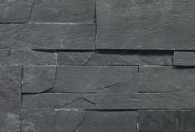 3D панели Black Slate (Z)  180х350х12-15,натуральный скол
